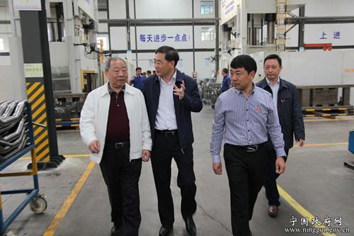 省委第一巡视组深入国家级宁国经济开发区调研