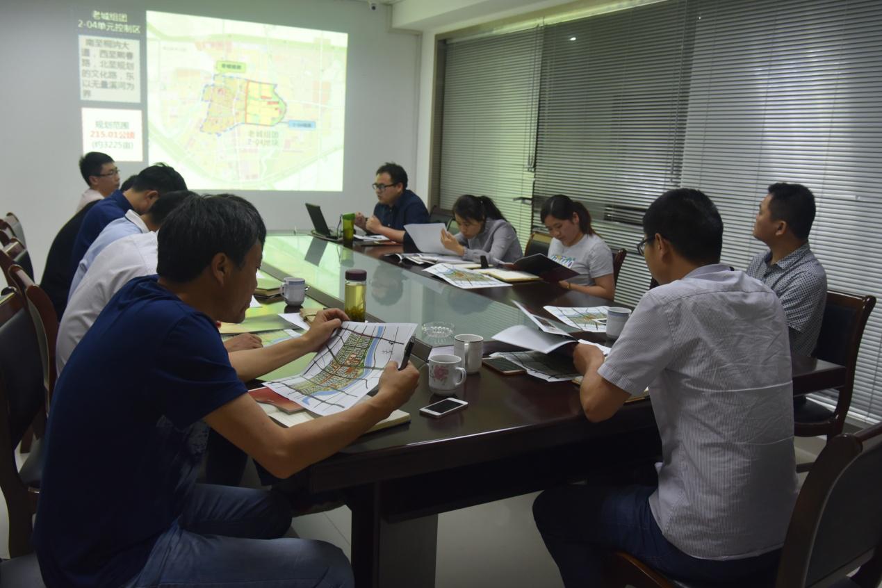 县规划局:规划局召开城东片区控规征求意见会