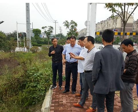 王庆武现场调度开发区企业排污