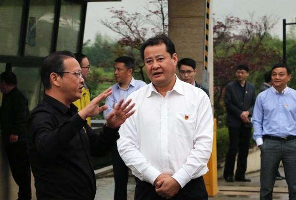 王庆武调研重点在建项目推进情况