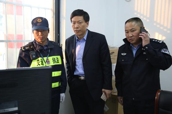 沈景华副县长到新杭镇督导环境综合整治工作