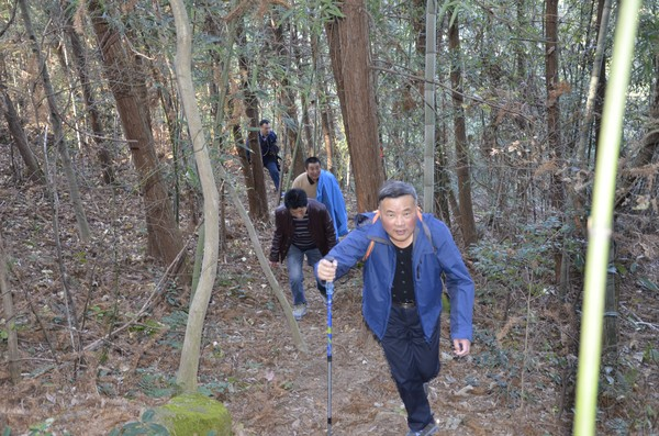 广德县公路局组织开展登山活动