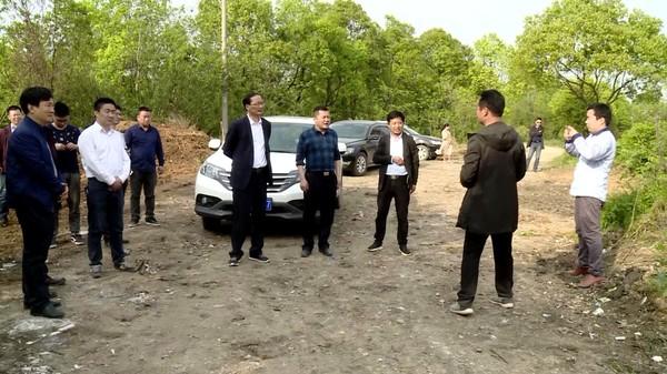 王爱庆带队巡查流洞河、桃园河