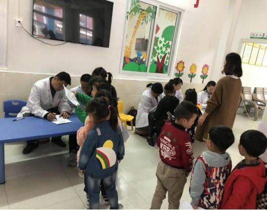 健康体检、快乐成长―小福星幼儿园春季体检活动