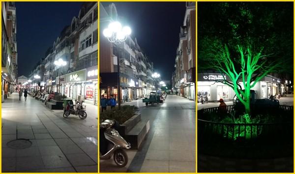 步行街的灯亮了 住建委夫子庙市政设施改造有序推进