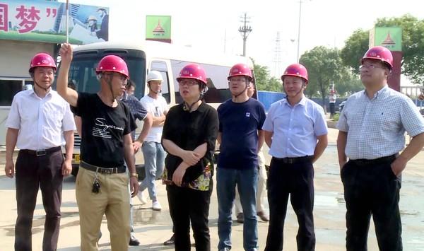 陈红英检查安全生产工作