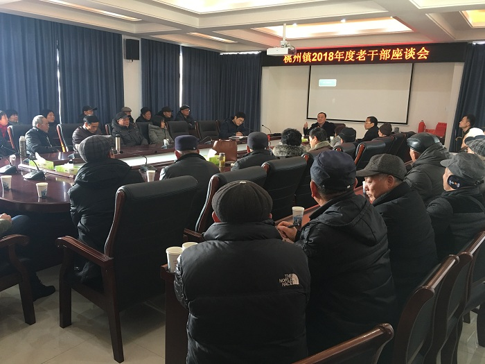 桃州镇召开2018年度老干部座谈会