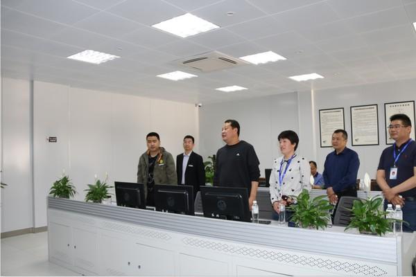 王庆武视察景区安全接待工作