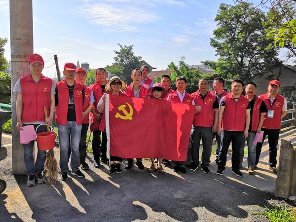 县农监局、农机局党支部联合开展5月红色星期六活动