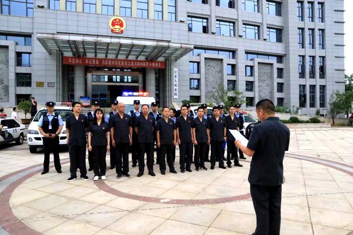泾县:强制腾空显威力 百万执行款一次性到位