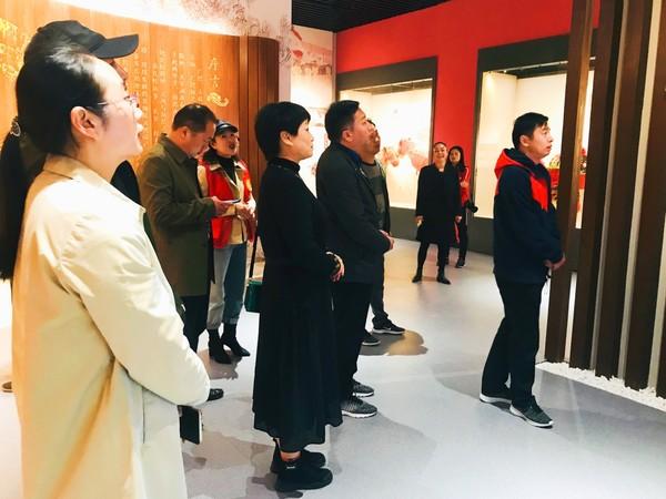 河南省光山县政协考察团一行来广德市文化馆参观交流