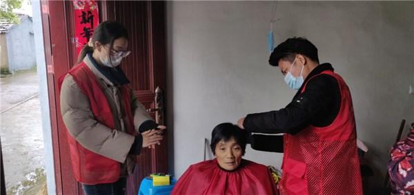 红旗社区开展爱心理发师新时代文明实践志愿服务活动