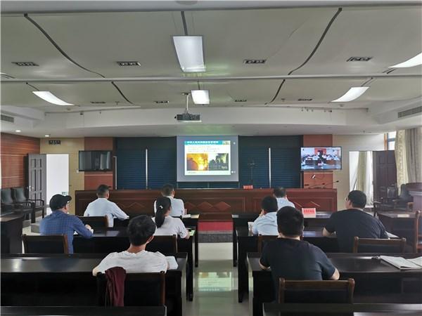 广德市应急局组织学习应急部专项工作培训视频会议