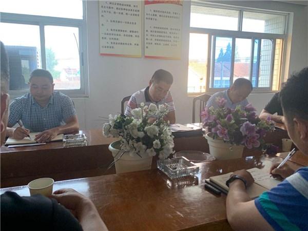 广德市应急管理局督查新杭综合应急救援队防汛工作