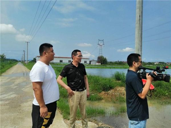 市畜牧兽医水产服务中心积极指导养殖户抗洪救灾