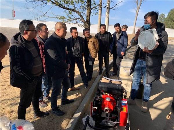 广德市举办森林消防以水灭火装备培训活动