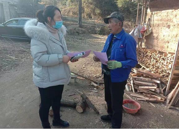 """卢村乡:高庙村开展""""防疫情促健康""""宣传活动"""