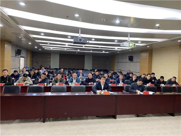 广德市组织参加全国防汛抗旱工作电视电话会议