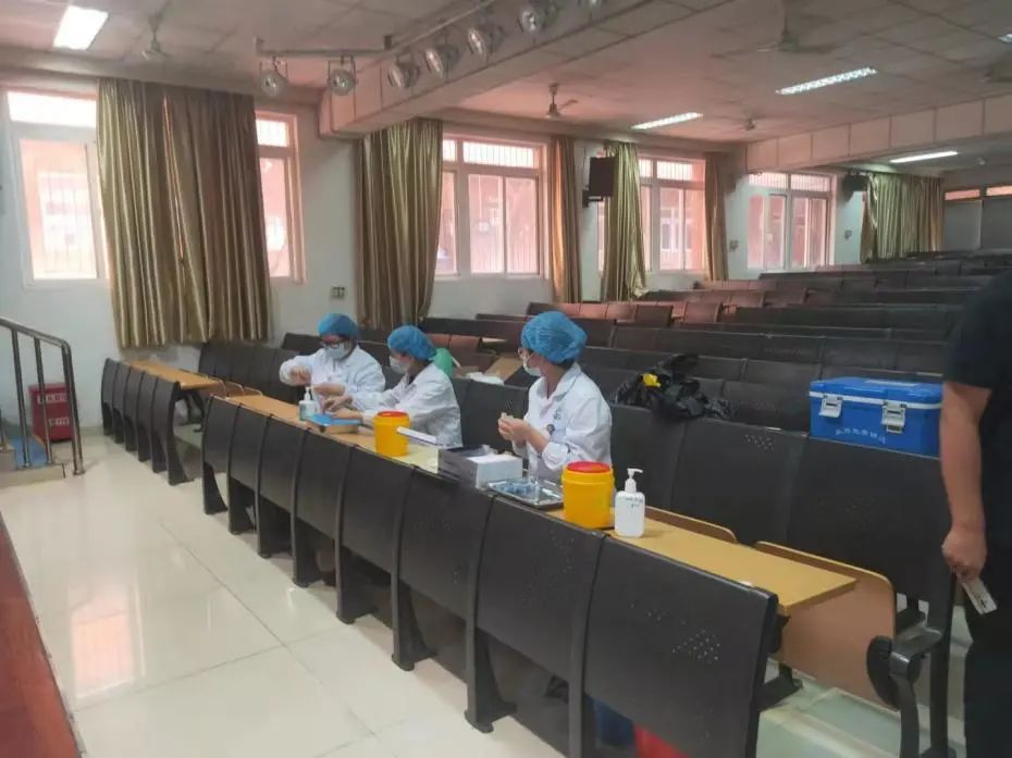 庐阳高中高一年级肺结核筛查工作有序完成