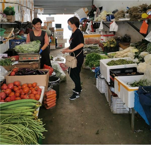 发改委开展节前农副产品市场巡查